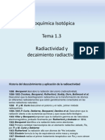 TEMA 1.3 (Radiactividad)