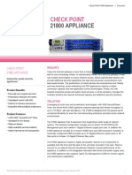 21800 Appliance Datasheet