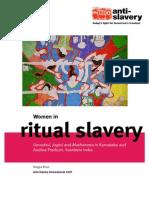 Women in Ritual Slavery2007