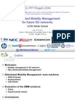 Distributed Mobility Management