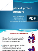 Polypeptide and Protein Structure