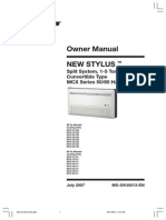 MCX-OWNER-0707 Manual de Operación Split Stylus