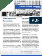 Arnstein & Lehr Construction Law Newsletter Winter 2010