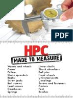 HPC MadeToMeasure2014