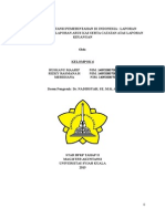 Makalah Standar Akuntansi Pemerintahan Di Indonesia Laporan Operasional Dan Laporan Arus Kas Serta Calk