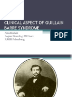 Clinical Aspect of Guillain Barre Syndrome