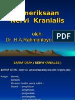 Pemeriksaan Nervi Kranialis
