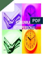 Sesi 10 Komunikasi Interpersonal(1)