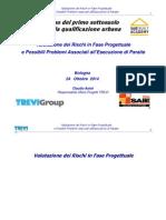 Valutazione dei Rischi in Fase Progettuale e Possibili Problemi Associati all'Esecuzione di Paratie