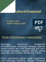 Teori Struktural Fungsional,Ppt