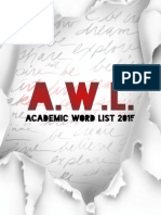 Academic Word List (Formatted)