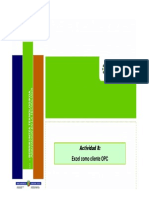 InfoPLC Net S7Excel Como Cliente OPC.ppt