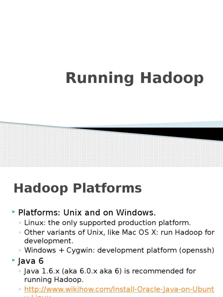 Hadoop tutorial apache hadoop computing platforms baditri Image collections