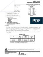 Datasheet for MAX232,232I
