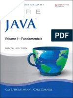 Core Java Volume I- Fundamentals 9th Edition- Horstmann, Cay S. & Cornell, Gary