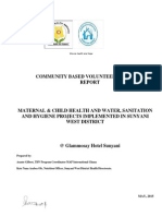 Maternal & Child Health, Water, Sanitation and hygiene l MAP International Ghana