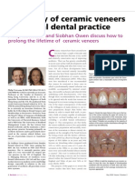 Longevity of Ceramic Veneers in General Dental Practice