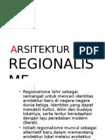 Regionalisme dalam Arsitektur