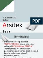 Transformasi dalam Arsitektur