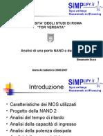 Analisi NAND 2-input