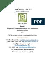 ADA 2. Agregar Notas Al Pie Citas y Bibliografias