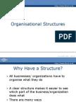 Organization Structures