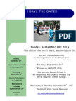 Moral March on Climate Activities-save the Date-september 20th-24th 2015.v.3