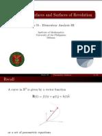 05 Parametric Surfaces - Handout
