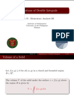 09 Applications of Double Integrals - Handout