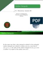 16 Surface Integrals - Handout