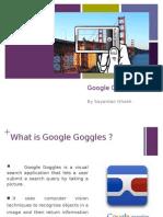 Google Goggles ppt