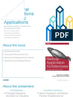 Architectural Considerations for Hadoop Applications _Using Clickstream Analytics as an Example_ Presentation