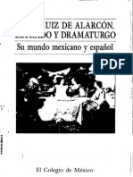 Juan Ruiz de Alarcón, Letrado y Dramaturgo