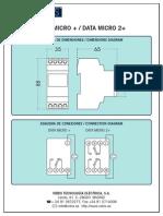 Con Data Micro Plus Data Micro 2plus