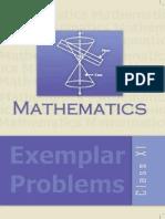 Mathematics Exemplar Problems XI