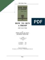 Run Troop