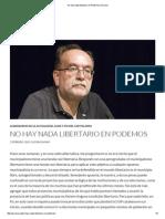 No Hay Nada Libertario en Podemos _ Acracia