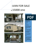 Caravan in Wooler-Northumberland for Sale