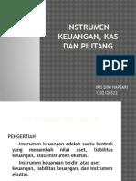 Bab 5 Instrumen Keuangan, Kas Dan Piutang