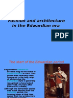 Fashion and Architecture in the Edwardian Era