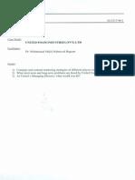 United Foam-case Study