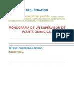 Funcion de Supervisor de Planta Quimica