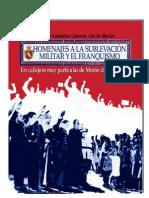 Homenajes a La Sublevación Militar y Al