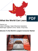 What the World Can Learn From China