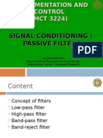 signal Cond Filters