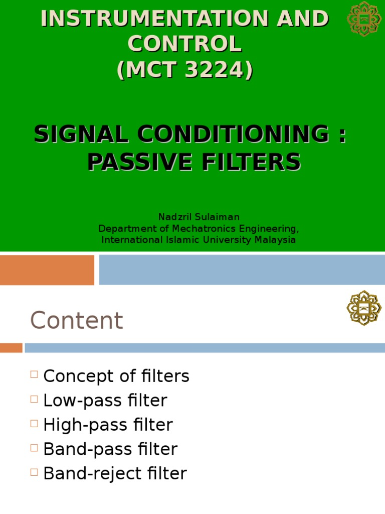 Signal Cond Filters Electronic Filter Low Pass Good Pix For Band Reject Circuit