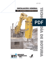 Pica Roca 150-4062 - Rockbreaker Installation Manual Spanish