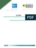 Metodologia de La Investigación (Método)