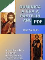 Duminica a VI-a a Pastelui - textul evanghelic (A)