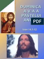 Duminica a V-a a Pastelui - textul evanghelic (A)